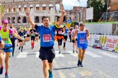 Arrivo Roma via dei fori imperiali - Stefano Salvatori